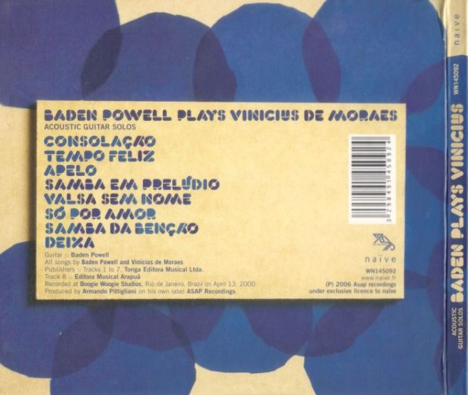 2000 - Baden plays Vinicius
